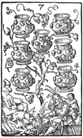 Seven of Wine Jugs